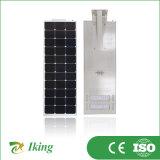 Support neuf 50W économique tous dans un réverbère solaire