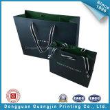 Negro Matte Paper Bolsa de lujo para el Envasado (GJ-bag120)