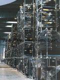 ポストまたは鋼鉄パレットまたはヨーロッパのパレットが付いている倉庫の記憶の移動式ラック