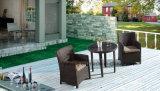 PE 등나무 Alumiframe &Table Chair의 세트를 식사하는 옥외 고리 버들 세공 가구 정원 (Yta020-1&Ytd581
