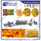 O milho popular ondula os petiscos que fazem a máquina