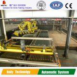 Máquina robótica de la configuración en planta completamente automática del ladrillo de la arcilla