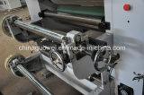 Máquina de control PLC automática de alta velocidad en seco rollo de papel que lamina