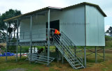 Gemakkelijk installeer het Geprefabriceerde Huis van de Villa van het Comité van de Sandwich van het Frame van het Staal