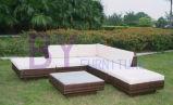 sofà esterno del giardino della squadra del sofà del rattan del giardino by-400