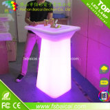 Drinking를 위한 높은 LED Bar Table