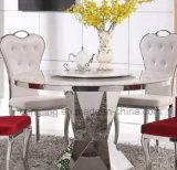 Moderne Entwurfs-oberster weißer Marmorspeisetisch für Verkauf