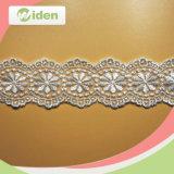 Шнурок вышивки красивейшего вспомогательного оборудования сетчатый для платья венчания