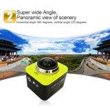 Cube360 ostenta a câmera de DV com ângulo 360A largo