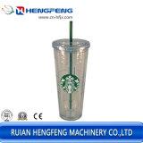 機械(HFTF-70T)を形作る涼しくか熱い飲料のためのStarbuckのプラスチックコップ
