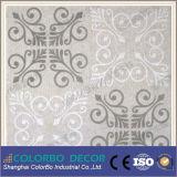 Painel acústico de congregação decorativo de fibra de poliéster