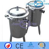 Alta Precisión Tipo Duplex vertical recipiente del filtro