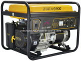 5.5kw Open Type Single Phase Portable Gasoline Generators (ZGEA6500 en ZGEB6500)