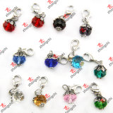 Parel en Crystal Dangles voor Fashion Necklace Accessories (DG123)