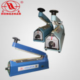 Máquina plástica de aluminio del lacre del sellador de la mano de la carrocería del acero inoxidable del hierro para el papel de Brown con el transformador de cobre