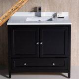 Module de salle de bains en bois européen simple