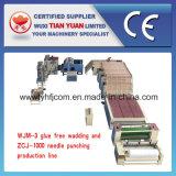 Linea di produzione non tessuta dell'ovatta della fibra di poliestere della macchina