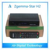 イタリアTVのデコーダーDVB T DVBのT2 + DVB S2のZgemma星H2