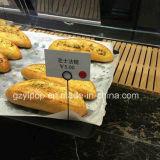 Support de prix à payer en métal de mémoire de boulangerie