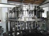 Maquinaria de relleno chispeante carbonatada de la bebida de la botella de cristal