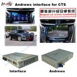 Relação video da navegação para Cadillac Srx, Xts, navegação do toque do melhoramento do ATS (SISTEMA da SUGESTÃO do carro), WiFi, BT, Mirrorlink, HD 1080P, mapa de Google, loja do jogo, voz