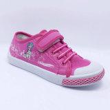 2016 nuevos zapatos de la inyección de los zapatos de lona de la manera de los cabritos de los zapatos de lona de las muchachas