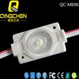 Ángulo de visión de 160 grados IP65 Módulo del LED de la inyección del poder más elevado 1W con la lente