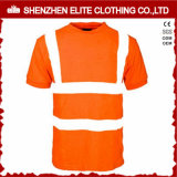 Hi Vis Fluorescent Yellow Work T-Shirts
