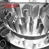 제조자 커튼 가로장 알루미늄 밀어남 알루미늄 단면도