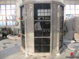 96의 벽감 8각형 모양 검정 화강암 비둘기집