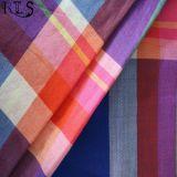 Tela teñida hilado tejida del popelín de algodón para las camisas/alineada Rls60-10po de la ropa