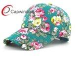 Chapéu de basebol floral Allover do painel da impressão 6 para a forma