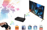 Caixa esperta Android da tevê Wi-Fi de IPTV, núcleo 2GB/8GB HD 1080P do quadrilátero