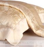 Impostor de seda de la almohadilla del telar jacquar de lujo de la nieve de Taihu para el hogar y el hotel