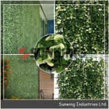 Hedge Jardín Coberturas decorativo IVY Boj Mat Artificial