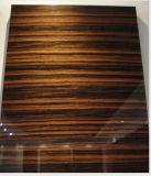 MDF hecho frente ULTRAVIOLETA del grano de madera