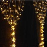 연결할 수 있는 이동할 수 있는 LED 커튼 빛을 점화하는 휴일
