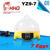 Incubatrice completamente automatica dell'uovo del pollo delle uova di Hhd 7 per covare