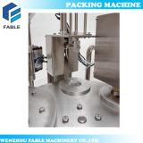 Enchimento do copo e máquina giratórios automáticos da selagem