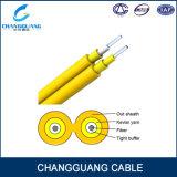 Кабель симплекса оптического волокна кабеля связи крытый