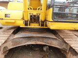 La retroexcavadora utilizó 2006~2010 el excavador hidráulico de KOMATSU PC220-7 de la correa eslabonada de 1.0cbm/22ton Japón