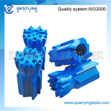 Insert caliente Retrac Type Thread Button Bit para Quarry Drilling