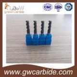 Торцевая фреза карбида вольфрама HRC45-55 и покрытие Tiain