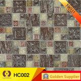 Tuile de mosaïque en céramique en verre en pierre pour la décoration de mur (HC002)