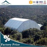 20mx35m Water Resistant Polygon Shape Sport Tent per Basketball Corridoio