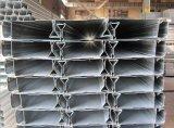 マルチ階の建物のための電流を通された構造スチールのデッキ