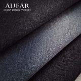 Tela del poliester del algodón de la tela del dril de algodón de la tela cruzada 802 para los pantalones vaqueros
