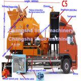 Pompe Camion-Montée de mélangeur concret de l'économie C5 de travail avec le générateur diesel