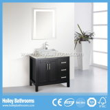 Excellents meubles classiques de salle de bains en bois solide de modèle américain (BV121W)