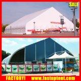 tent van Tradeshow van de Luifel van pvc van 30m de Kromme Gevormde met Grote Capaciteit